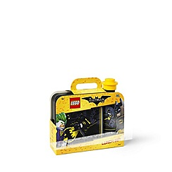 LEGO - The Batman Movie - Batman Lunch Box and Drinking Bottle set