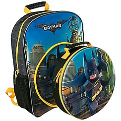 LEGO - The Batman Movie Backpack with Lunch Bag
