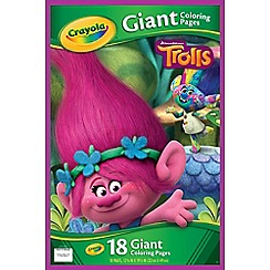 Vivid - Trolls Giant Colouring Pages