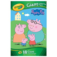 Peppa Pig - Peppa Pig Giant Colouring Pages