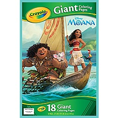 Disney Princess - Moana Giant Colouring Pages