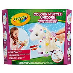 Crayola - Colour and Style Unicorn