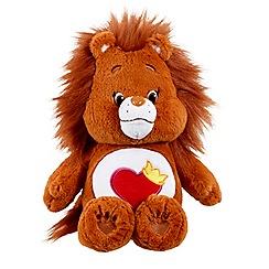 Care Bears - Medium Plush with DVD Brave Heart Lion
