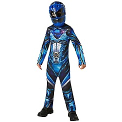Power Rangers - Blue Ranger Costume - Medium