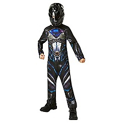 Power Rangers - Black Ranger Costume - Small