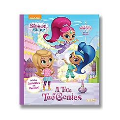 Shimmer N Shine - A Tale of Two Genies Book
