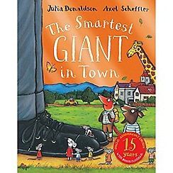 MacMillan books - The Smartest Giant in Town Book