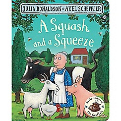 MacMillan books - A Squash and a Squeeze Book