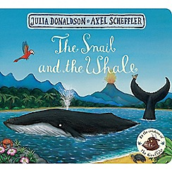 MacMillan books - The Snail and the Whale Book