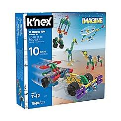 K'Nex - 10 Model Building Set