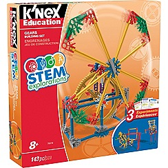 K'Nex - Stem Explorations Gears Building Set