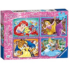 Disney Princess - 4x 42pc Jigsaw Puzzle Bumper Pack