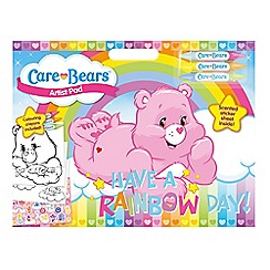Care Bears - Colouring pad with stickers