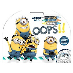 Despicable Me - Colouring pad with stickers
