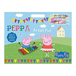 Peppa Pig - Colouring pad with stickers