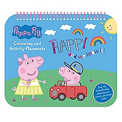 Peppa Pig - Activity placemat book