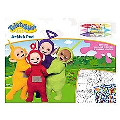 Teletubbies - Colouring pad with stickers