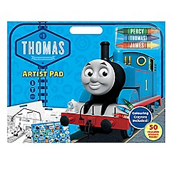 Thomas & Friends - Colouring pad with stickers