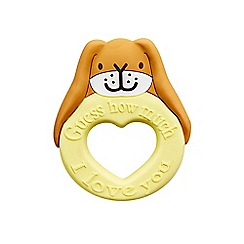 Guess How Much I Love You - Nutbrown Hare Teether