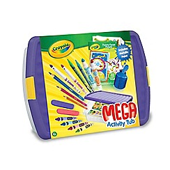 Crayola - Mega Activity Tub