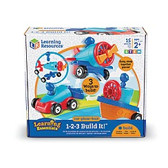 Learning Resources - 1-2-3 Build It Car-Plane-Boat