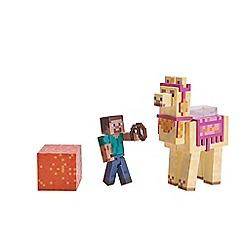 Minecraft - Steve with Lama