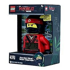LEGO - Ninjago Movie Kai Minifigure Alarm Clock