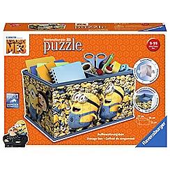 Despicable Me - 3 Storage Box, 216pc 3D Jigsaw Puzzle
