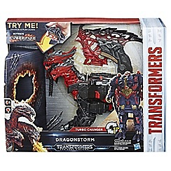 Transformers - The Last Knight Mega 1-Step Turbo Changer Dragon storm