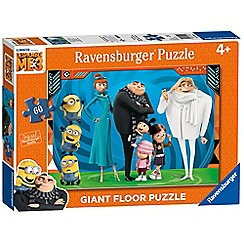Despicable Me - 3, 60pc Giant Floor Jigsaw Puzzle