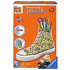 Despicable Me - 3 Sneakers 108pc 3D Jigsaw Puzzle