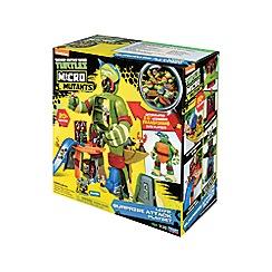 Teenage Mutant Ninja Turtles - Micro Mutants Leo's Surprise Attack Playset