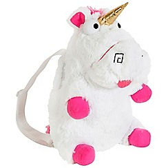 Despicable Me - 3 Fluffy Unicorn Plush Backpack