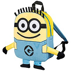 Despicable Me - Minions Embroidered Plush Front Backpack