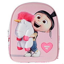Despicable Me - 3 Agnes and Fluffy w/sound Backpack