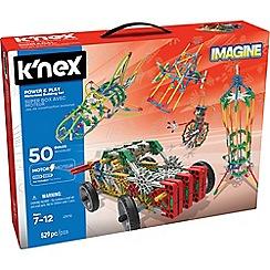 K'Nex - Imagine Power & Play 50 Model Motorized Construction Building Set