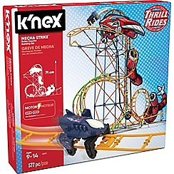 K'Nex - Thrill Rides Mecha Strike Roller Coaster Building Set