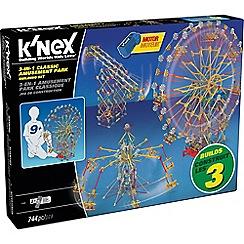 K'Nex - Thrill Rides 3 N 1 Amusement Park Building Set
