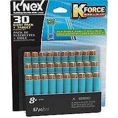 K'Nex - K-Force 30 Dart Pack & Target