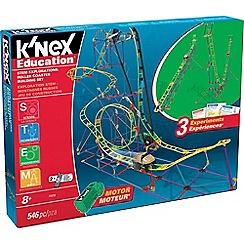 K'Nex - Stem Build & Learn Roller Coaster Building Set