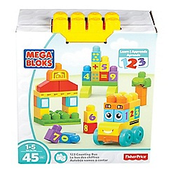 Mega Bloks - Building Basics 123 Counting Bus