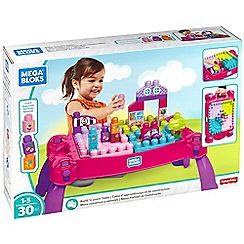 Mega Bloks - Build 'N Learn Table - Pink