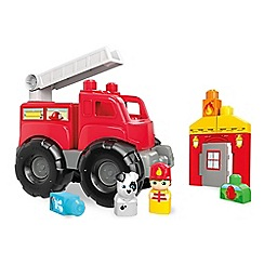 Mega Bloks - Storytelling Fire Truck Rescue