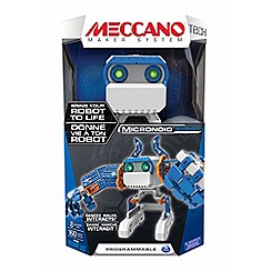 Meccano - Micronoid - Basher Blue