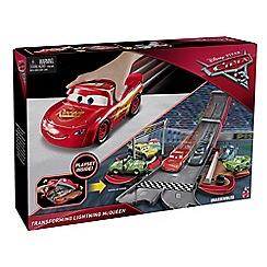 Disney Cars - 3 Transforming Lightning McQueen Playset