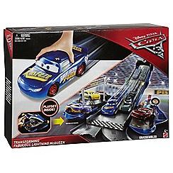 Disney Cars - 3 Transforming Fabulous Lightning McQueen Playset