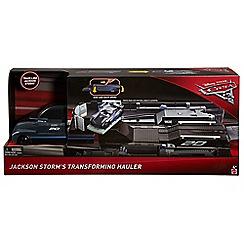 Disney Cars - 3 Jackson Storm's Transforming Hauler Playset