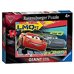 Disney Cars - 3, 60pc Giant Floor Jigsaw Puzzle