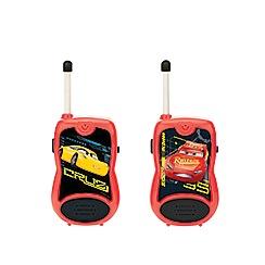 Disney Cars - 3 Walkie Talkies - 100m