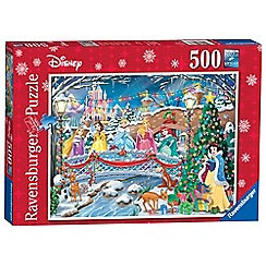 Disney Princess - Ravensburger Christmas Celebrations 500pc Jigsaw Puzzle